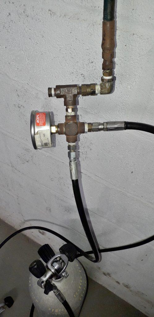 Sistemas adaptados geram riscos desnecessários a uma estação de recargas de ar respirável